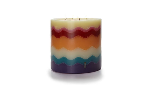 PHOTO: Missoni Torta Candle