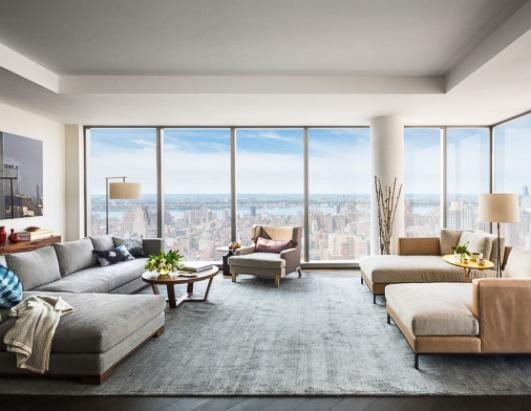 Tom Brady and Gisele Bundchen's New York apartment.