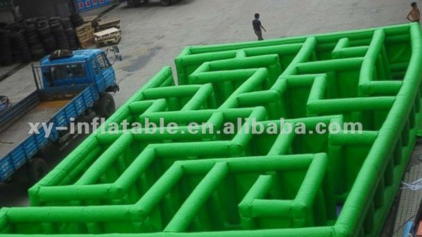 "PHOTO: ""2012 inflatable labyrinth maze"" for sale on Alibaba.com"