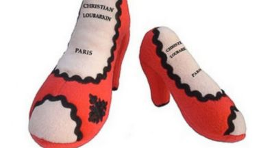 "PHOTO: ""Christian Loubarkin Louboutin Inspired Shoe Toy"" from Alibaba.com"