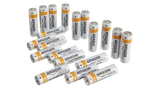 PHOTO: Generic products, like Amazon batteries, yields a higher profit for the store although sells for a lot less than the similar national brand.