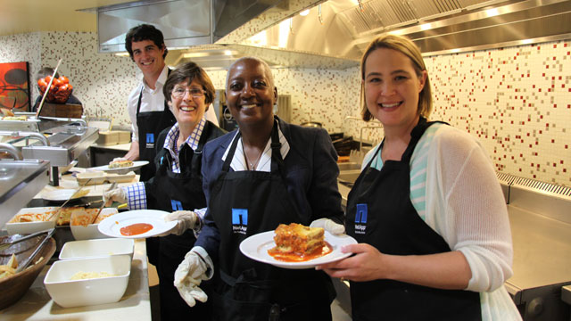 PHOTO: NetApp Share Your Lunch program