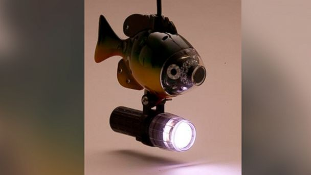 PHOTO: The AquaVu underwater LED floodlight is seen in this undated product shot.