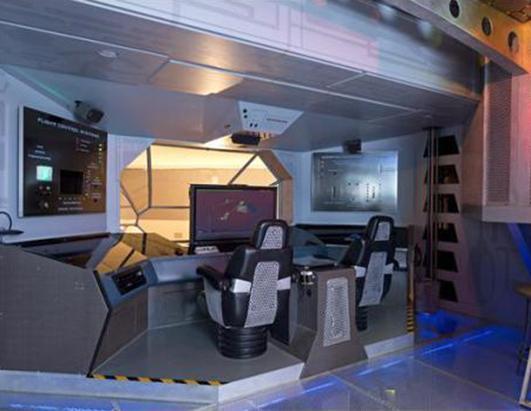 Spaceship Arcade Home