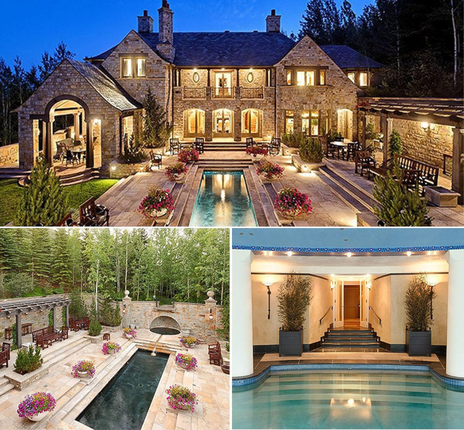 homes with dramatic pools for sale photos abc news