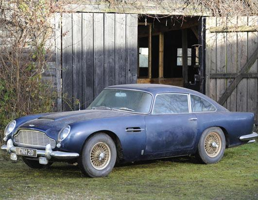 Aston Martin Auctioned for $492,948