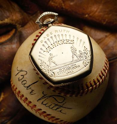 Babe Ruth Watch Auctioned