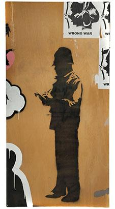 Banksy's 1st US Street Art Auctioned for $209K