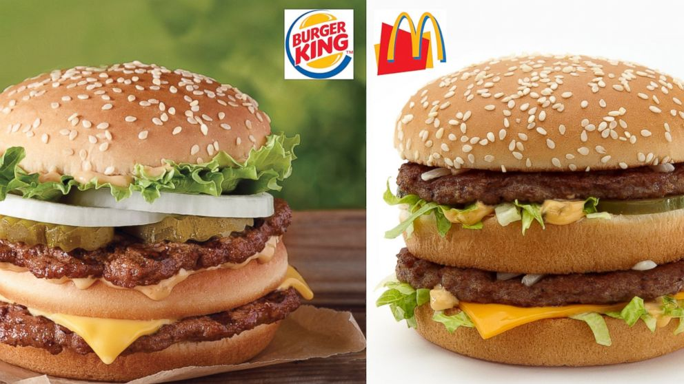 Big Mac vs. Big King