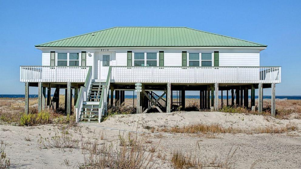Beachfront bargains for sale photos abc news for Beach house on a budget