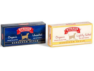 PHOTO: Straus Family Creamery sells approximately 500,000 pounds of butter each year, including gourmet, European-style.
