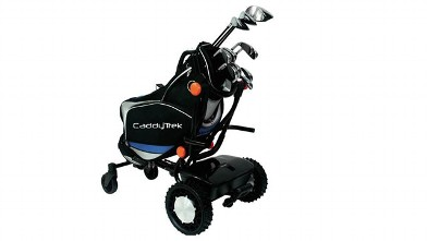 PHOTO: If the CaddyTrek robot golf club carrier gains traction, human caddies may become an endangered species.