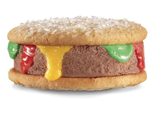 Ice Cream Burger