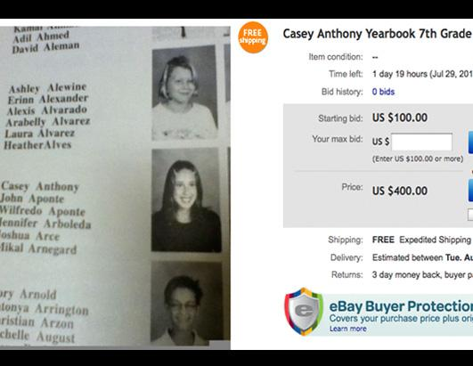 Casey Anthony Merchandise