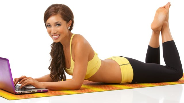 PHOTO: Yoga/fitness instructor Cassey Ho has made money off of YouTube videos.