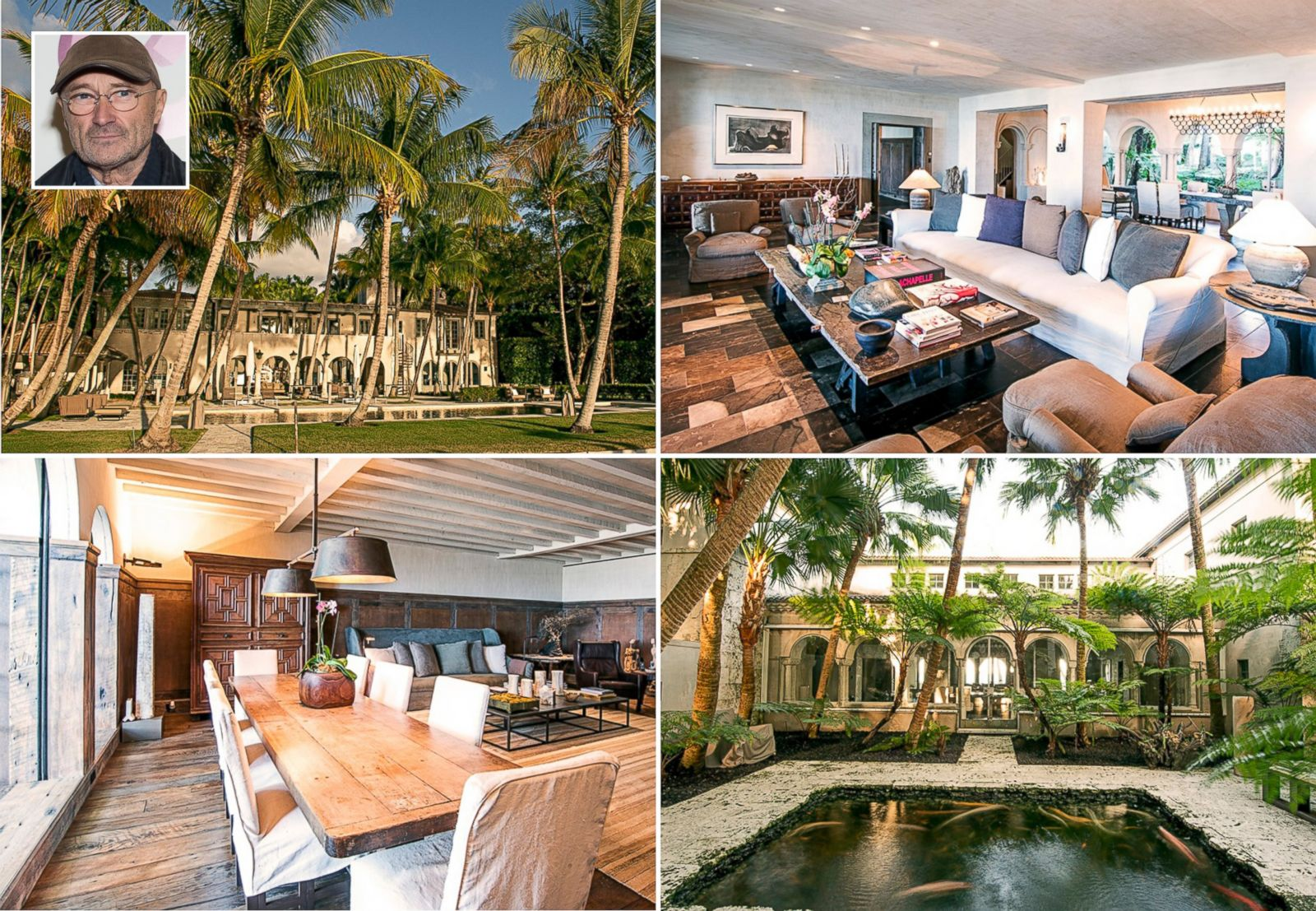 Phil Collins Buys J. Lo's Miami Beach Picture | In Photos ...