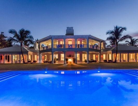 Celine Dion Selling Jupiter Island Mansion Picture
