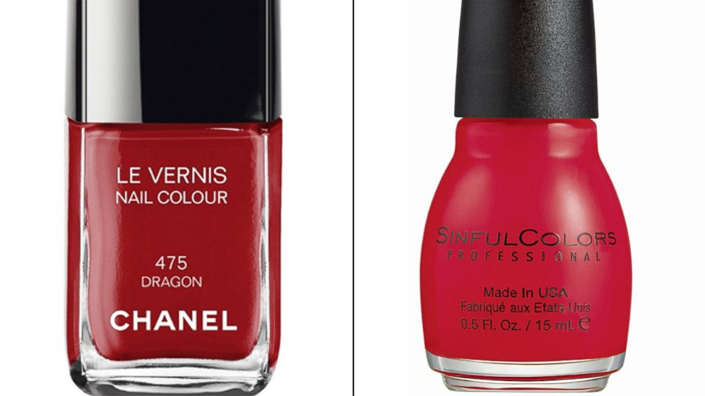 2 nail polish beats 27 chanel brand in quality test magazine says abc news - Vernis Sinful Colors