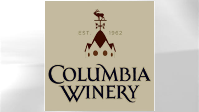 PHOTO: The logo for Columbia Winery is displayed in this file photo.