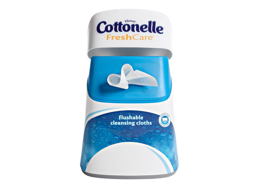 PHOTO: Cottonelle wipes