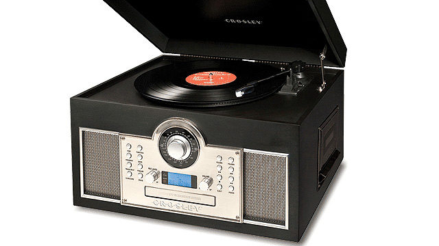 PHOTO: Crosley turntable