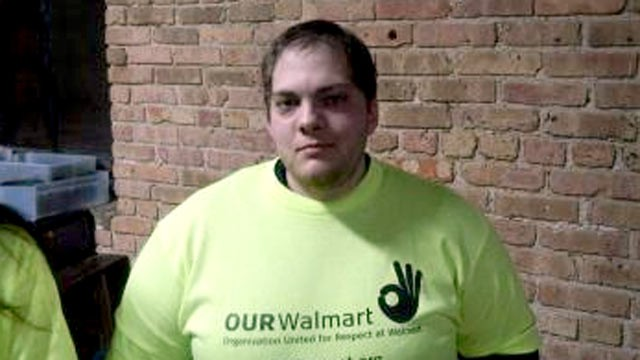 PHOTO: Danny Stauffer, 26, has been a part-time baker at Walmart in Milwaukee for five years, trying to get full-time work. His current wage is $9.40 an hour.