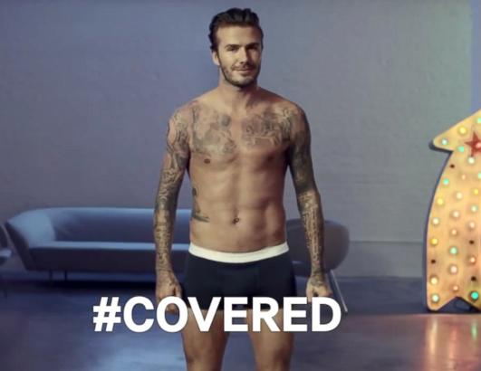 David Beckham's Super Bowl Ad