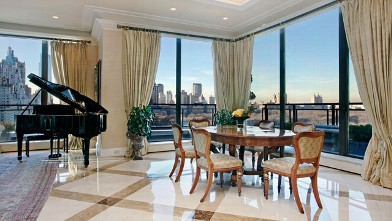 PHOTO: The largest-ever offering of a Penthouse on Fifth Avenue is the epitome of luxury and grandeur.