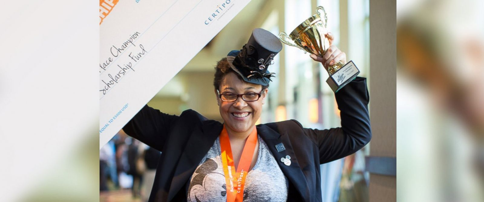 PHOTO: Dominique Howard, a 21-year old JPMorgan Chase receptionist, was just named the World Champion in Microsoft Word.