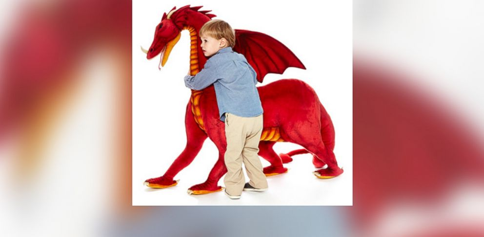 PHOTO: The $1,280 ride-on dragon is pictured.