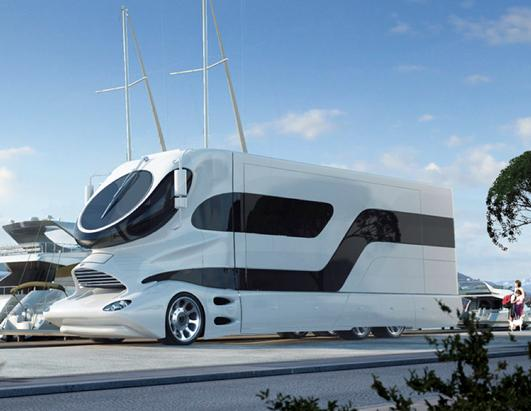 World's Most Expensive Motor Home