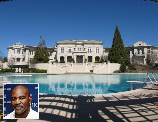 Evander Holyfield's Georgia mansion back on the market