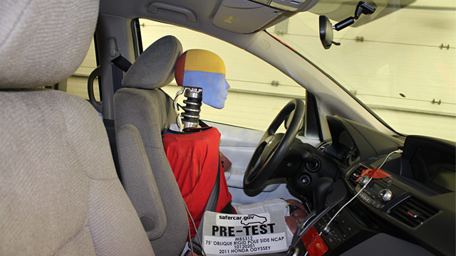 PHOTO: Female crash-test dummy