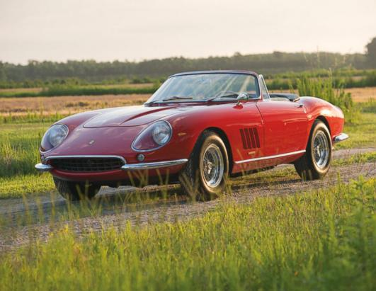 Rare Ferrari Fetches $27.5 Million at Auction