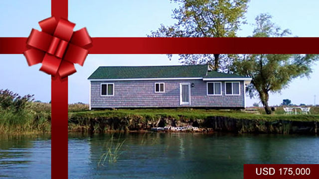 PHOTO: Fisherman?s Point, Michigan ? USD$ 175,000 <p> Fisherman?s Point is a private island located in Michigan on Lake Saint Clair, developed with a beautiful private cottage perfectly situated on the St. Clair Flats.