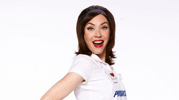 PHOTO: Stephanie Courtney as Flo for Progressive is seen in this undated handout photo.