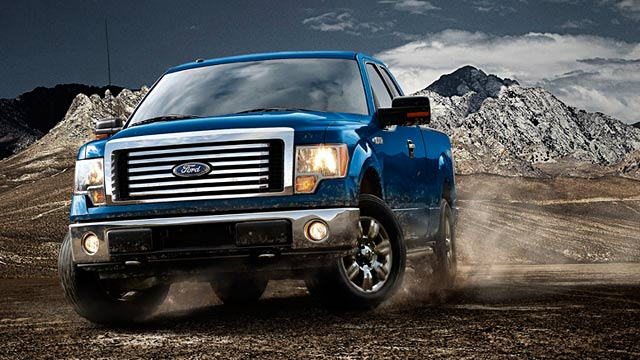 PHOTO: Ford F-150 pickup truck