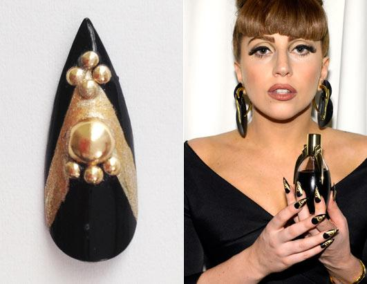 Lady Gaga's Nail For Auction