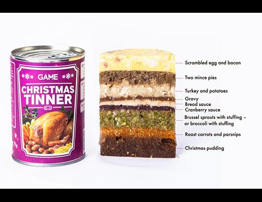 Game Unveils Christmas Tinner for Gamers