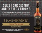 "PHOTO: Brewery Ommegang and HBO have partnered to make a ""Game of Thrones"" inspired beer."