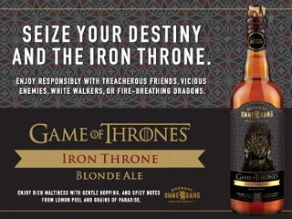'Game of Thrones' Taps Into Beer Sales