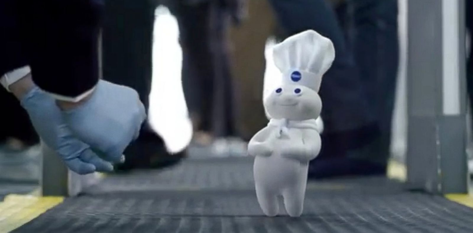 PHOTO: The Pillsbury Doughboy is featured in commercials for companies other than Pillsbury, including this Geico Insurance advertisement.