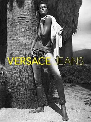 Gisele Bundchen for Versace Jeans