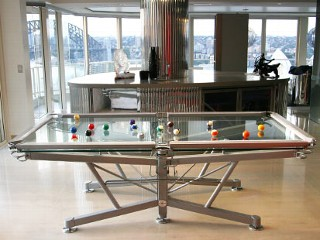 $73K Glass Pool Table Buyer Says He Was Hustled