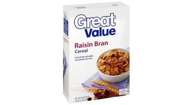 PHOTO: Great Value Raisin Bran