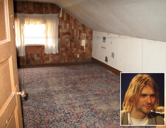 Kurt Cobain's Childhood Home Up For Sale