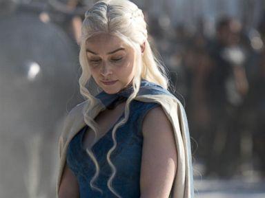PHOTO: Emilia Clarke as Daenerys Targaryen in the fourth season of the HBO show, Game of Thrones.