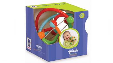 PHOTO: This Manhattan Toy Quixel Baby Rattle was recalled Dec. 4, 2013.