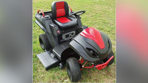 PHOTO: This Raven multi-purpose yard vehicle was recalled Dec. 4, 2013.