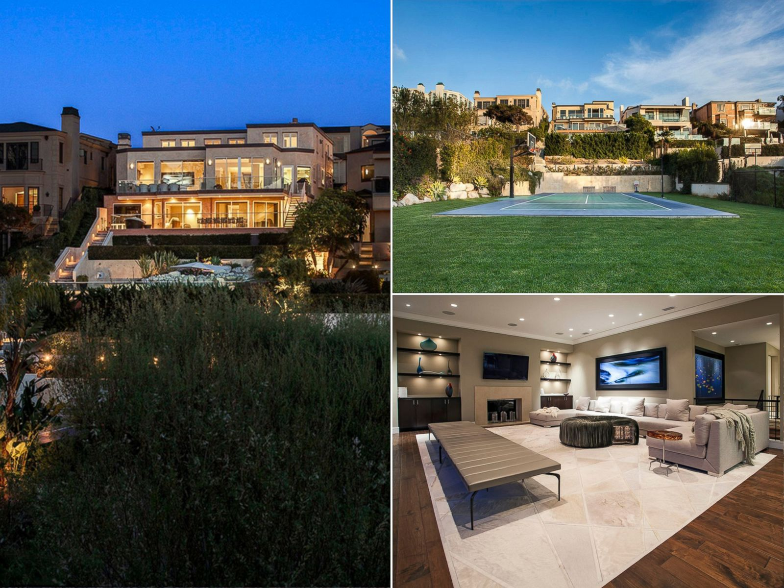 March Madness Homes With Basketball Courts For Sale